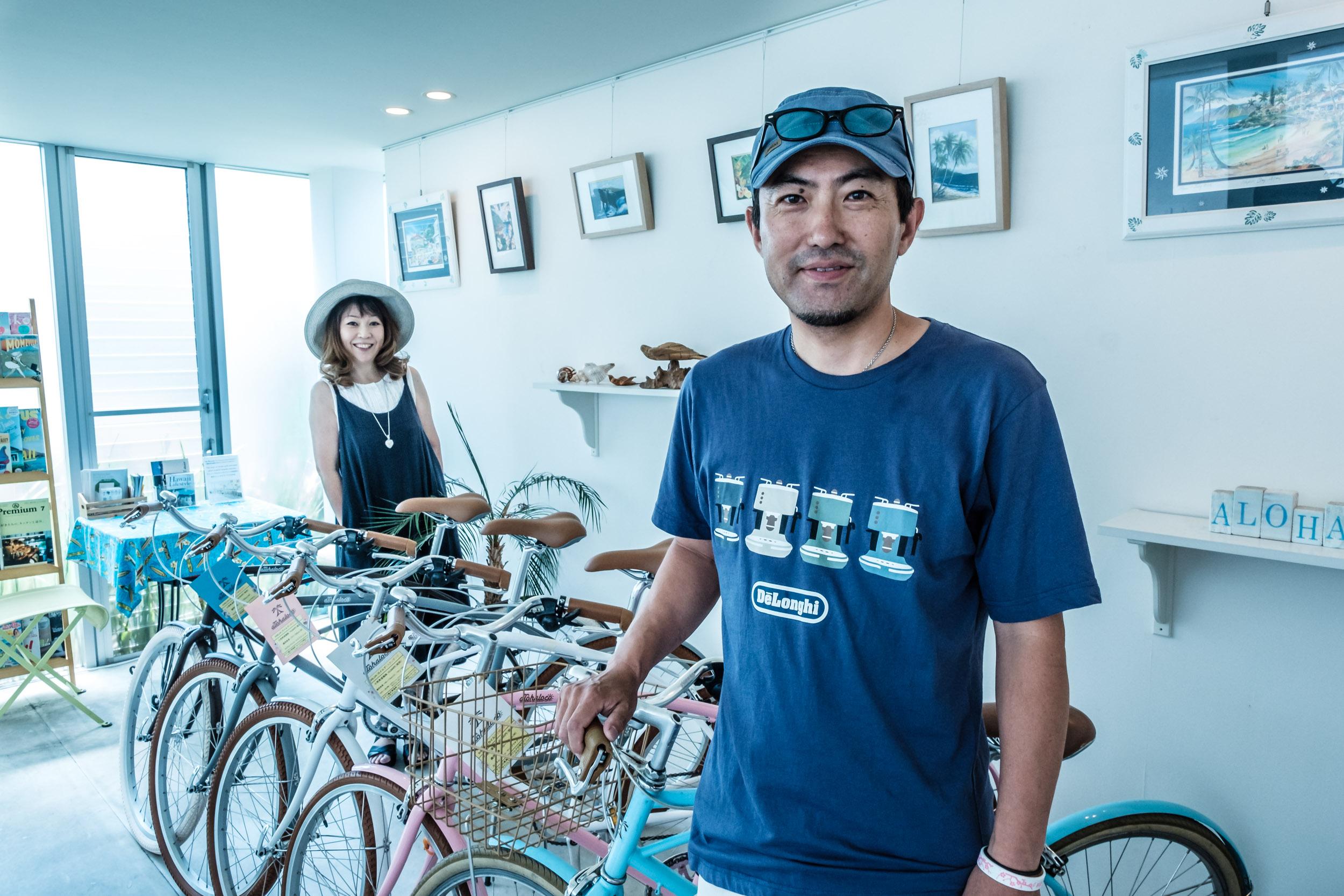 Kenusuke and Mayumi Shikano