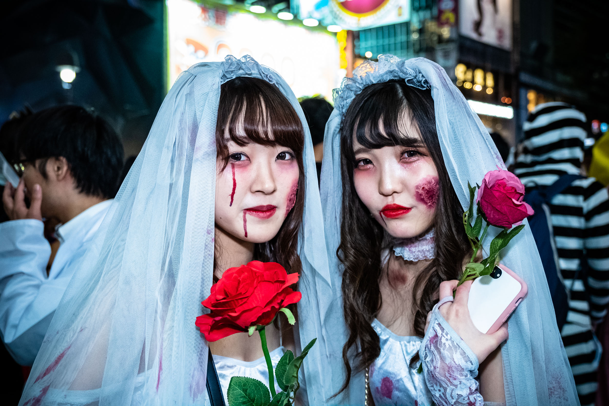 These girls looked like they were dying to get married