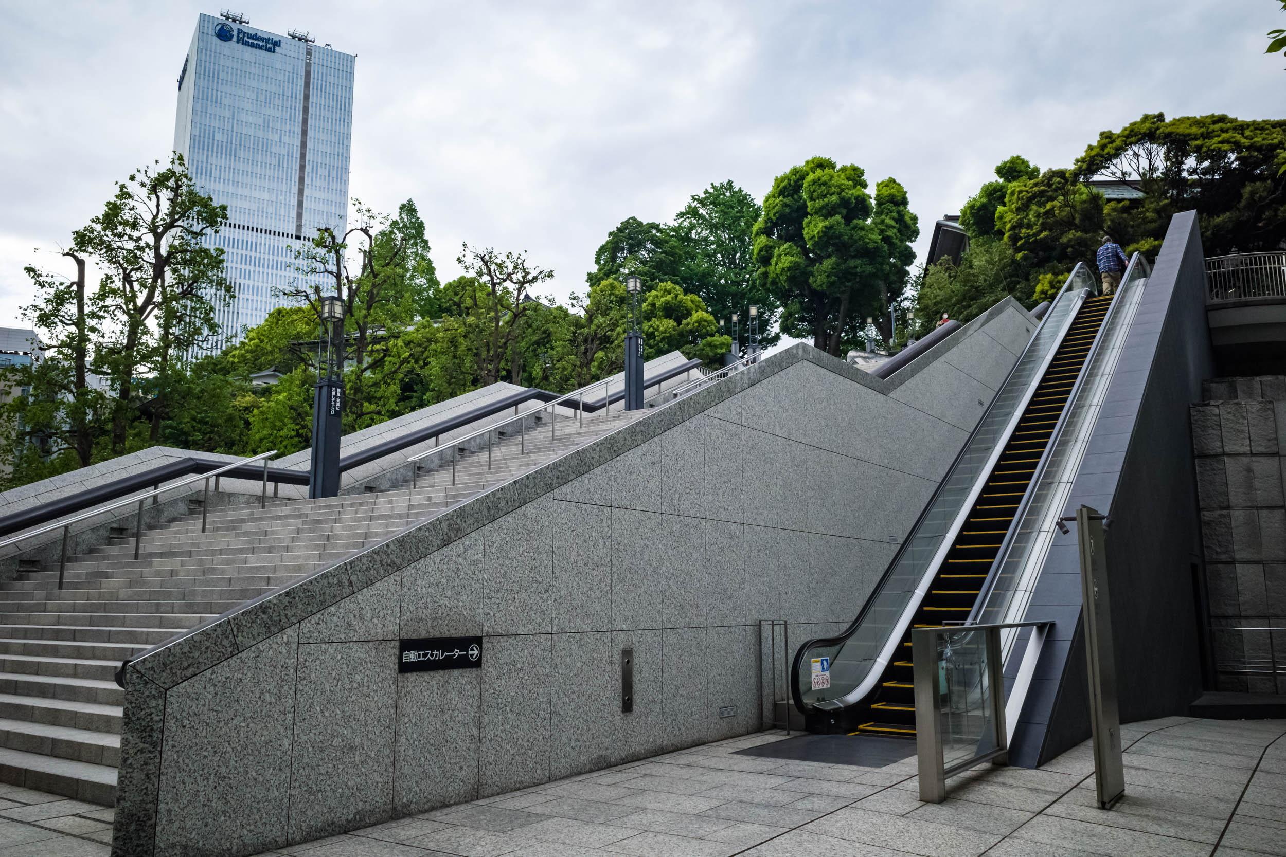 The first escalator