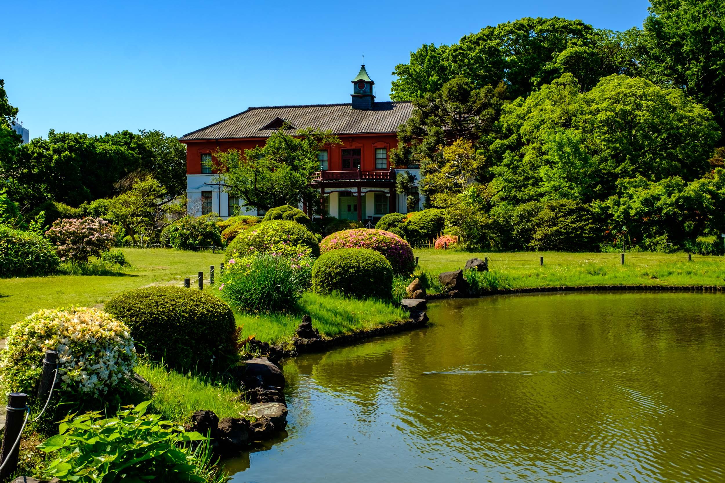 Looking towards the old Tokyo School of Medicine's headquarters