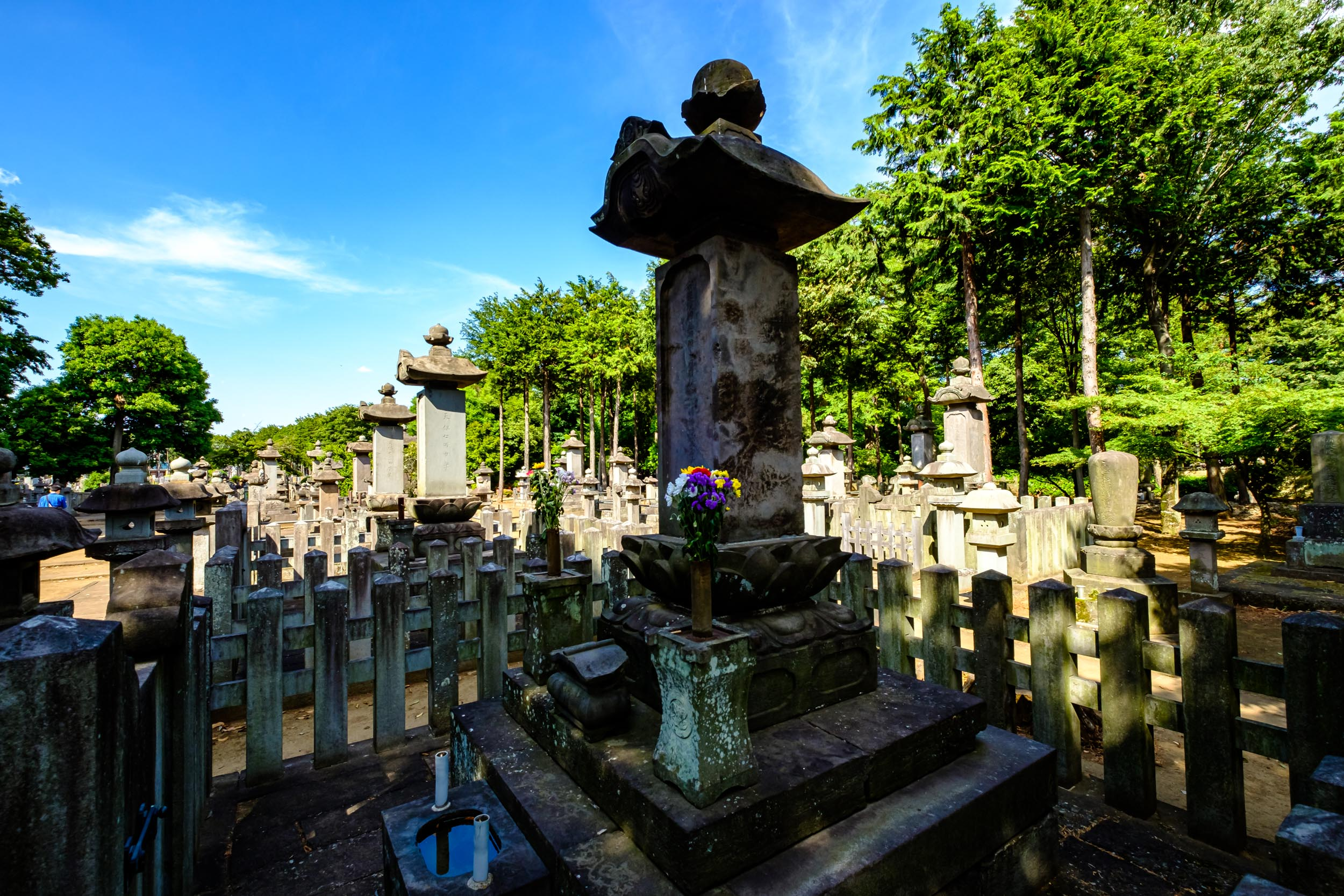 The grave of Ii Naosuke
