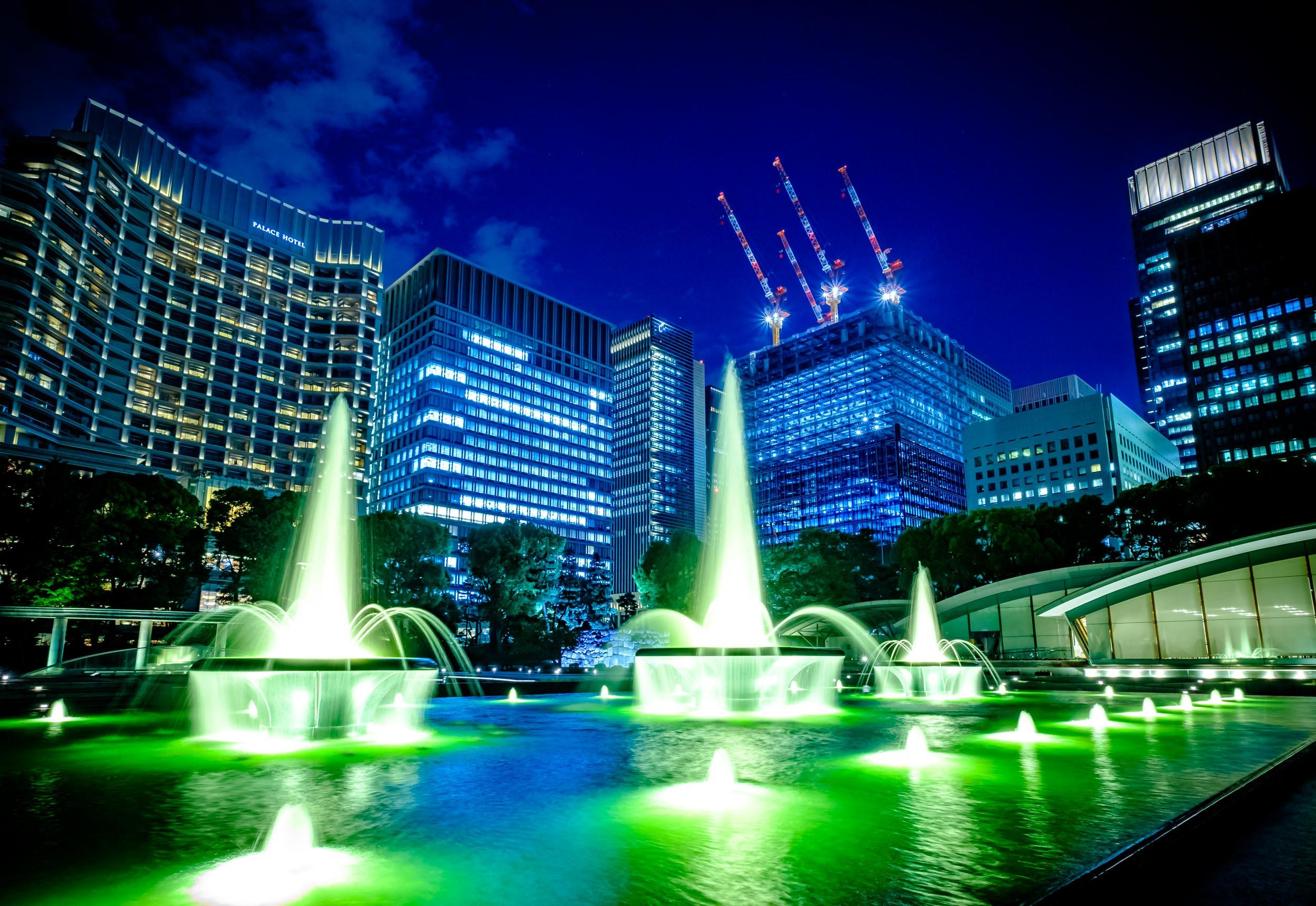 My favourite shot of Wadakura Fountain Park