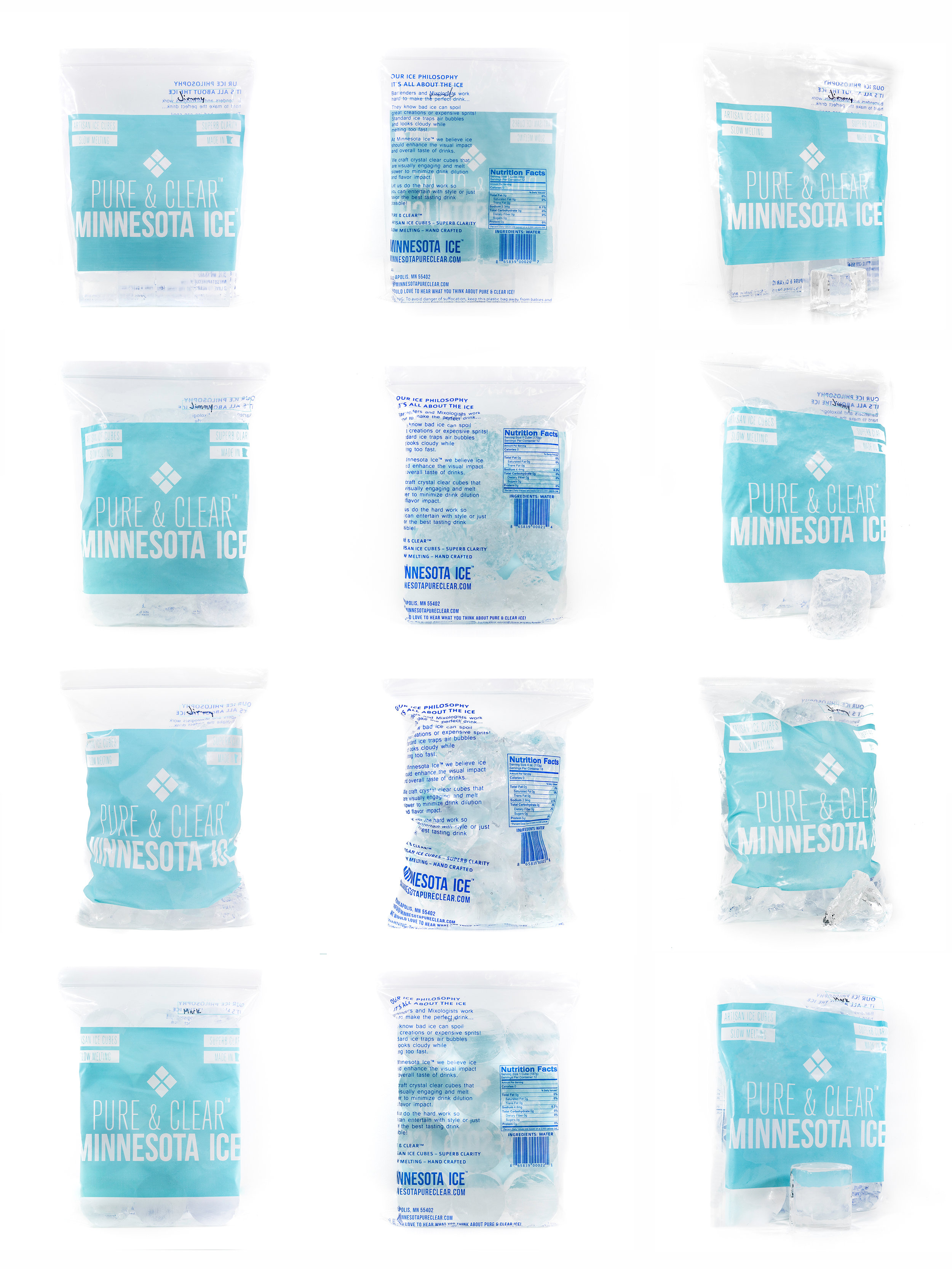 Pure & Clear Product Images