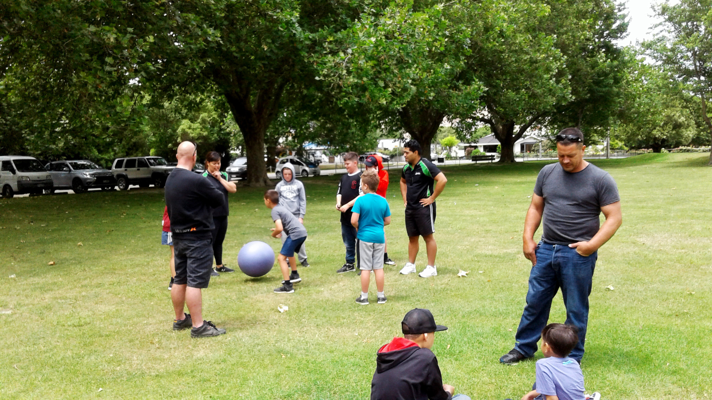 Bubble toys and stressed balls handed out to the Te Piki Oranga youth that attended to support fun and stress management.