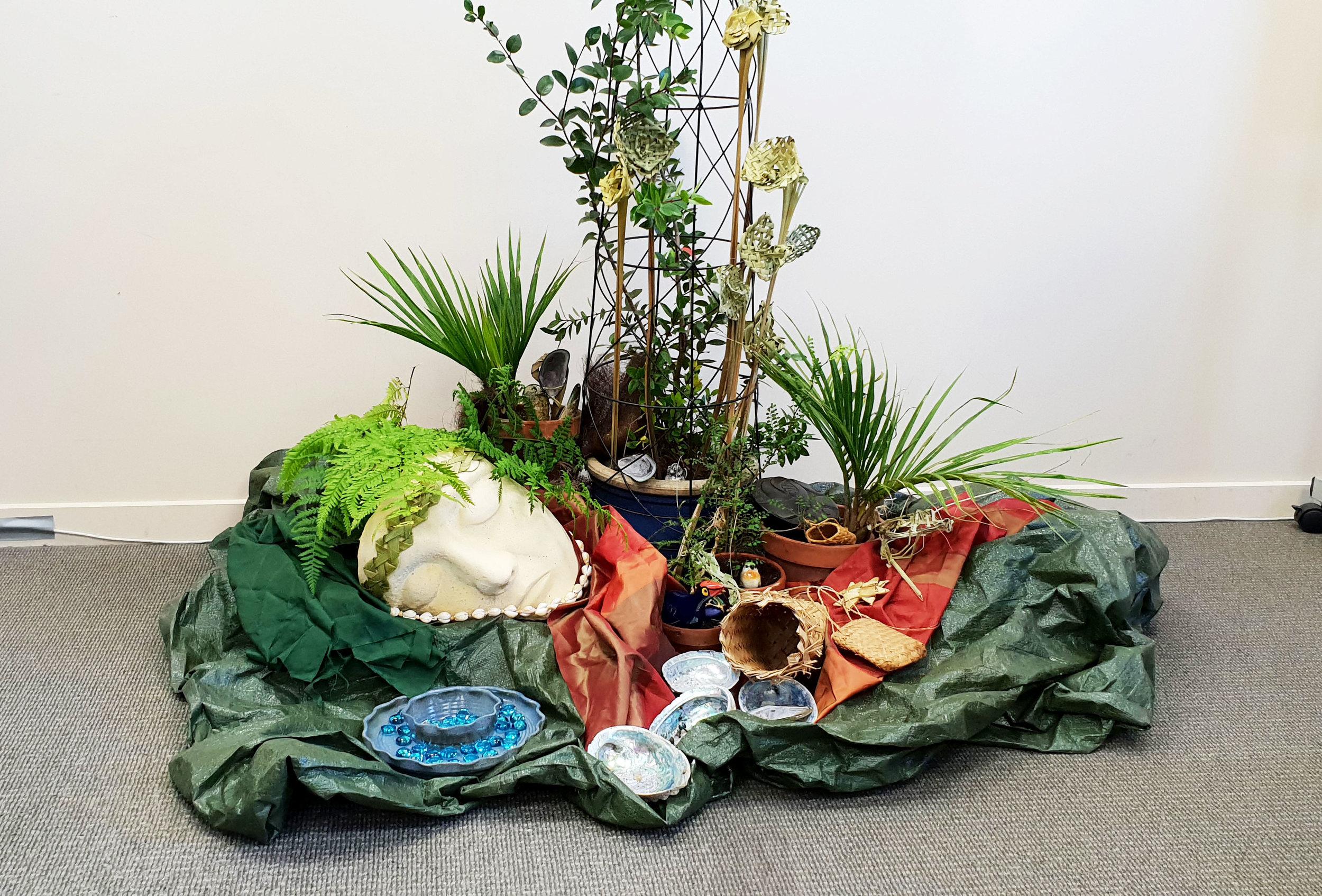 Whakatu, second in miniature garden