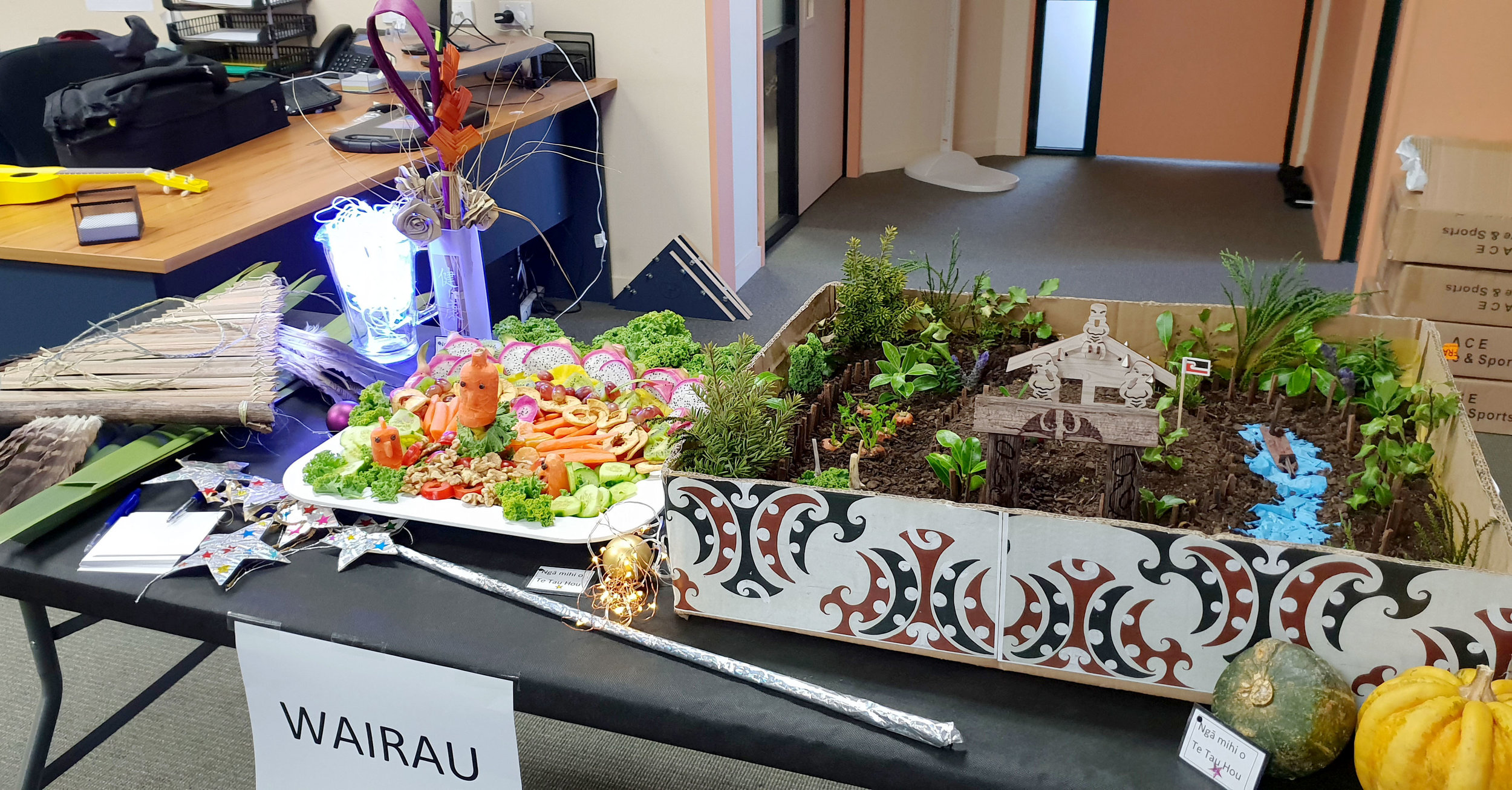 Wairau, third in miniature garden