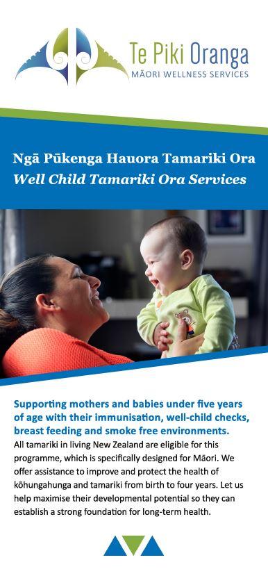 Tamariki Ora Brochure