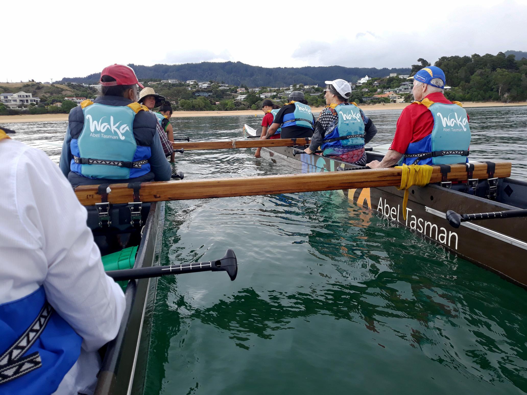 Thank you Waka Abel Tasman for allowing TPO to take our kaumātua for a paddle!