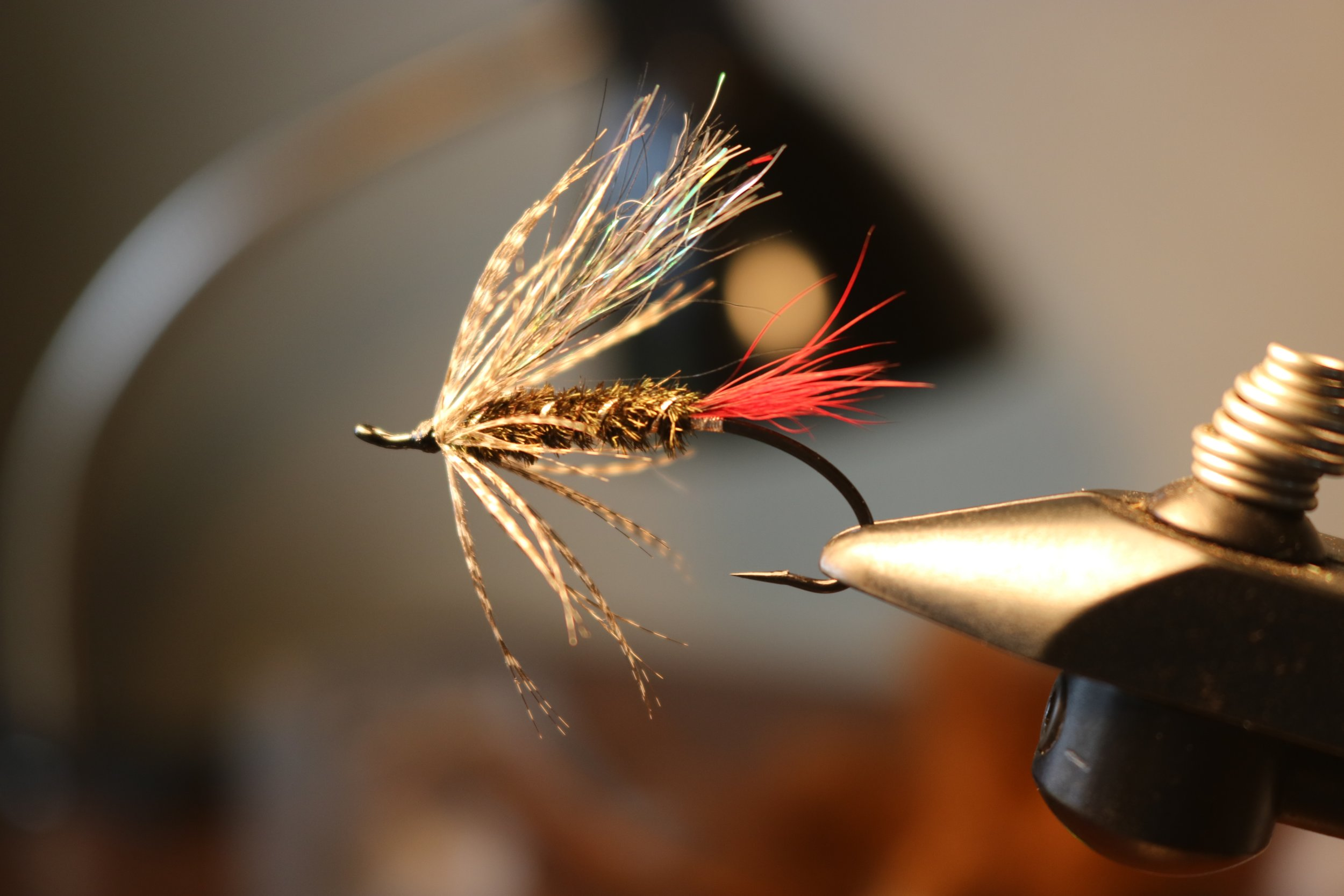 Flash wing soft hackle. The perfect follow up fly for the discerning steelhead