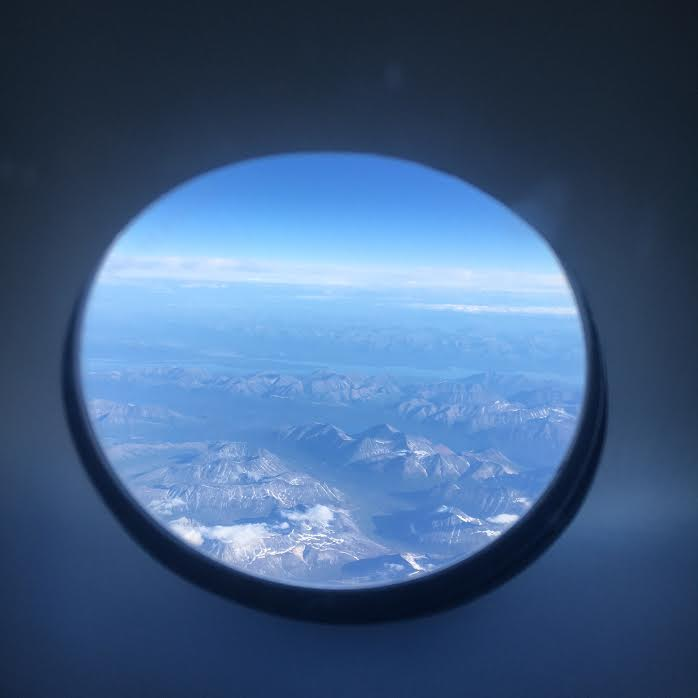Last look from the commercial flight back to Anchorage.