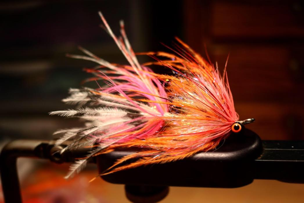 A standard Intruder fly. An essential component of any winter steelheaders arsonal
