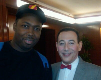Pee Wee Herman in NYC