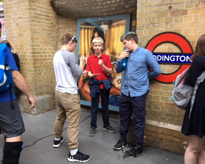 London Shakespeariance tour, June 2017