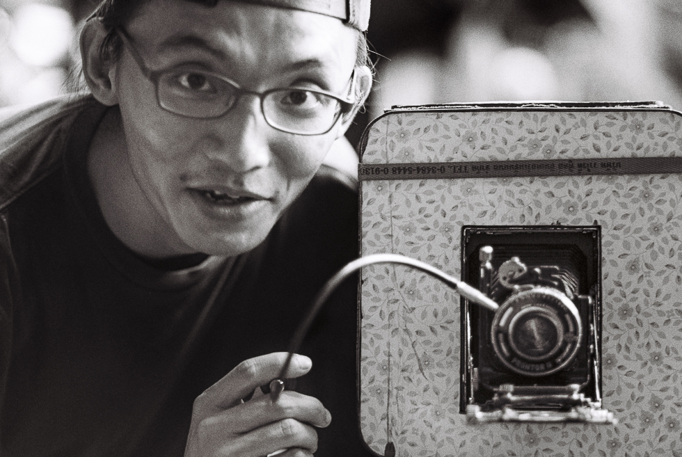 Portrait of photographer Jeffrey J C Lim