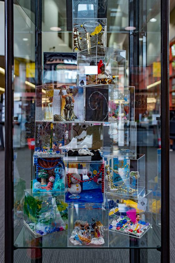 Artsbox Residency, 2017, Installation view #2