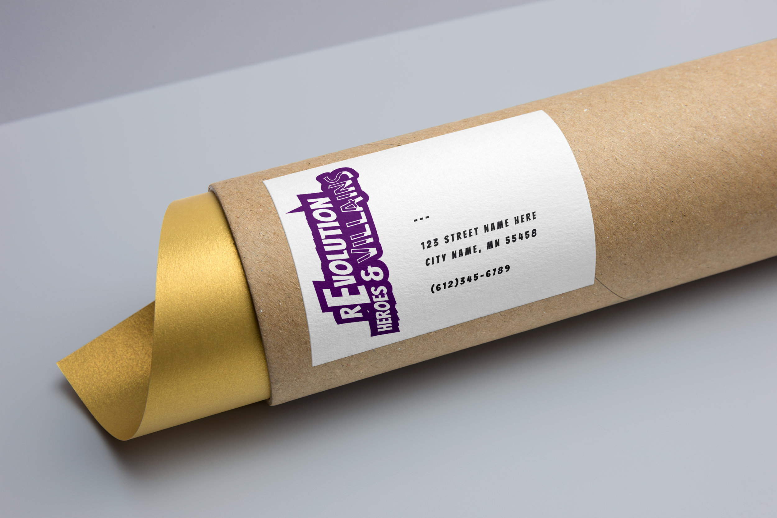 cardboard tube with revolution logo.jpg