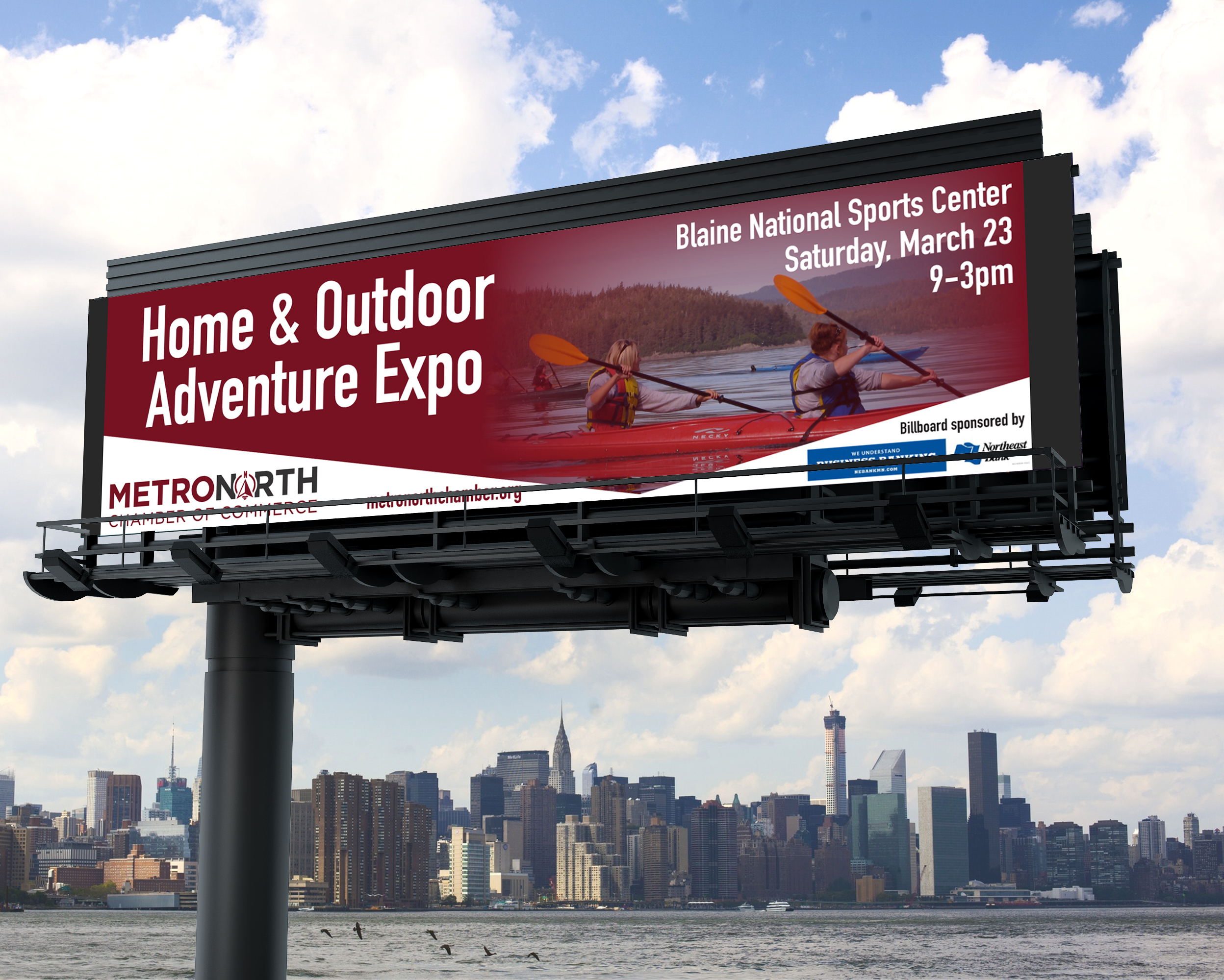 MetroNorth Billboard