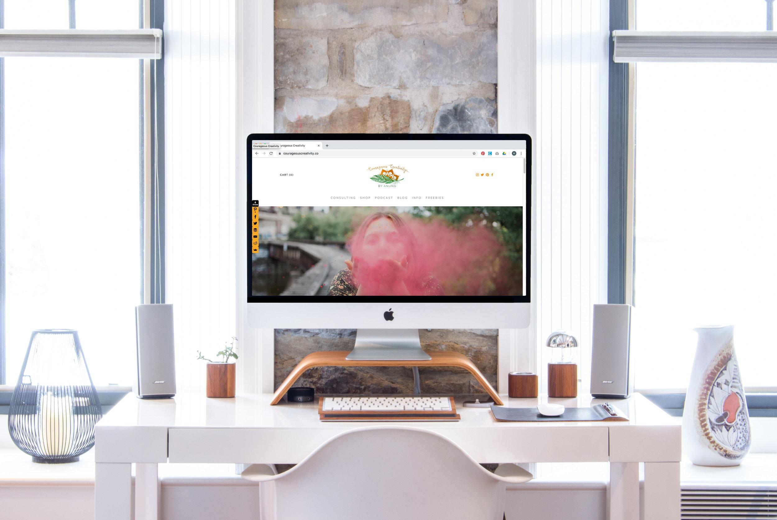 Courageous Creativity Website
