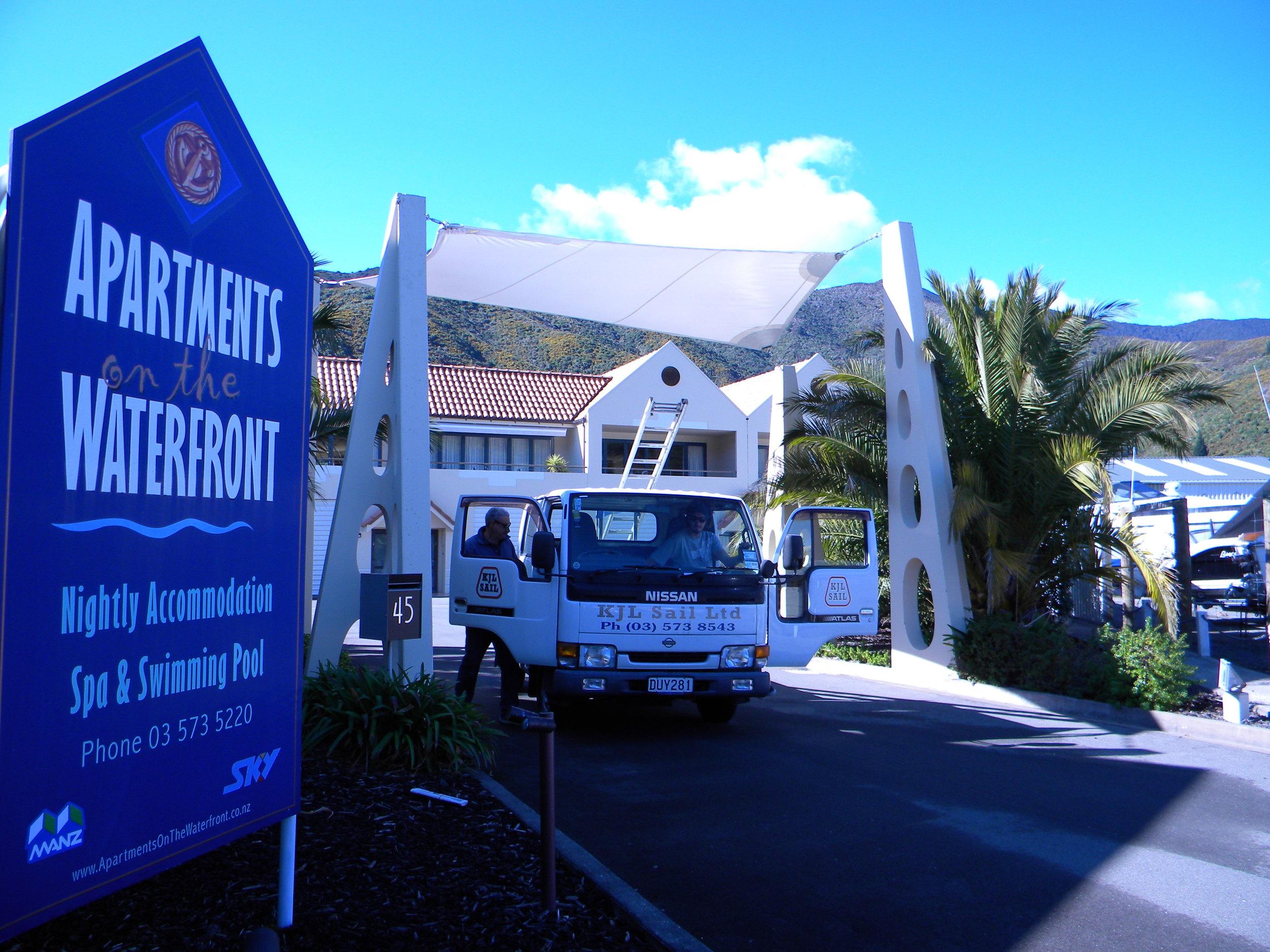 Waikawa Apartments - new shade sail 005.jpg