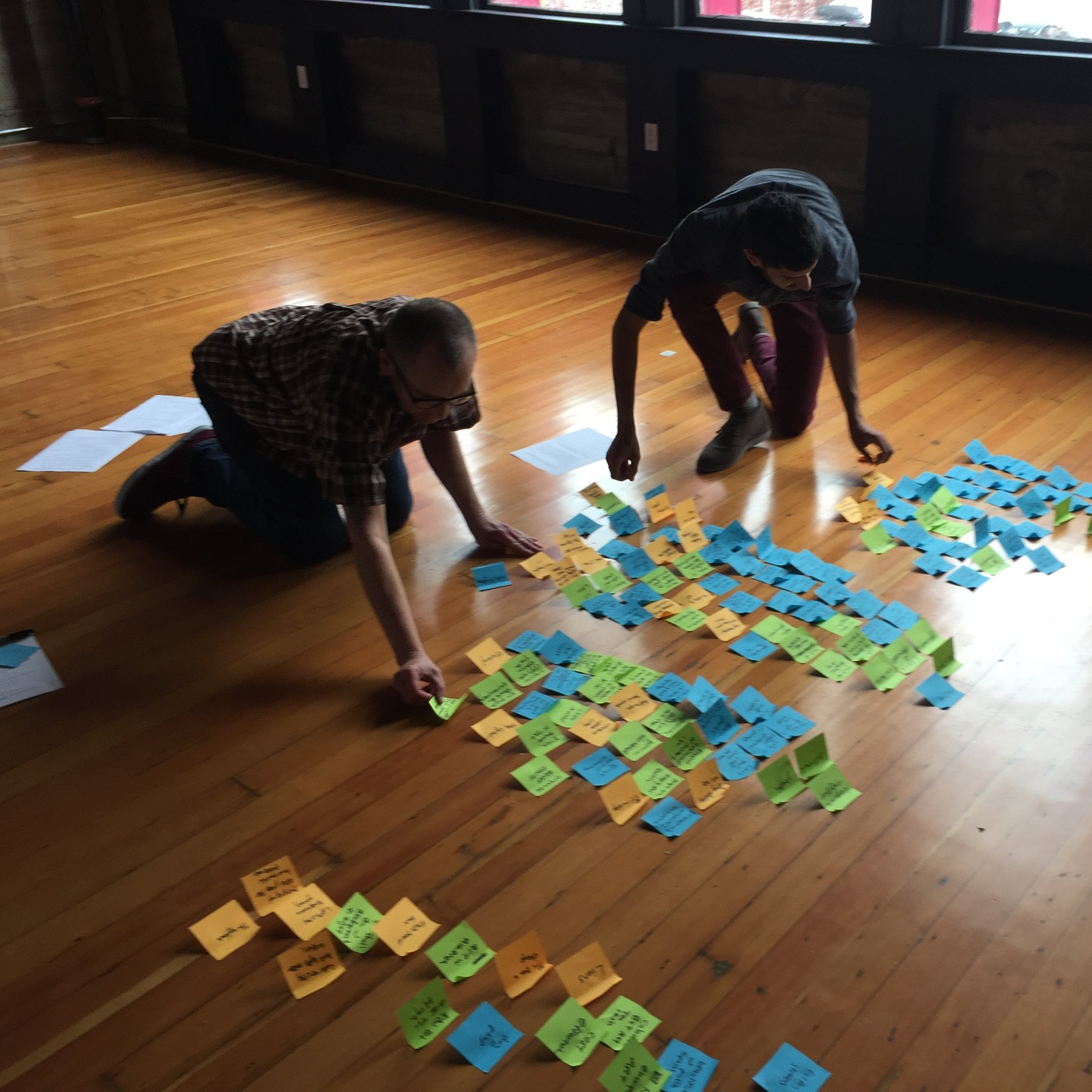 Synthesizing insights by arranging our findings in new ways