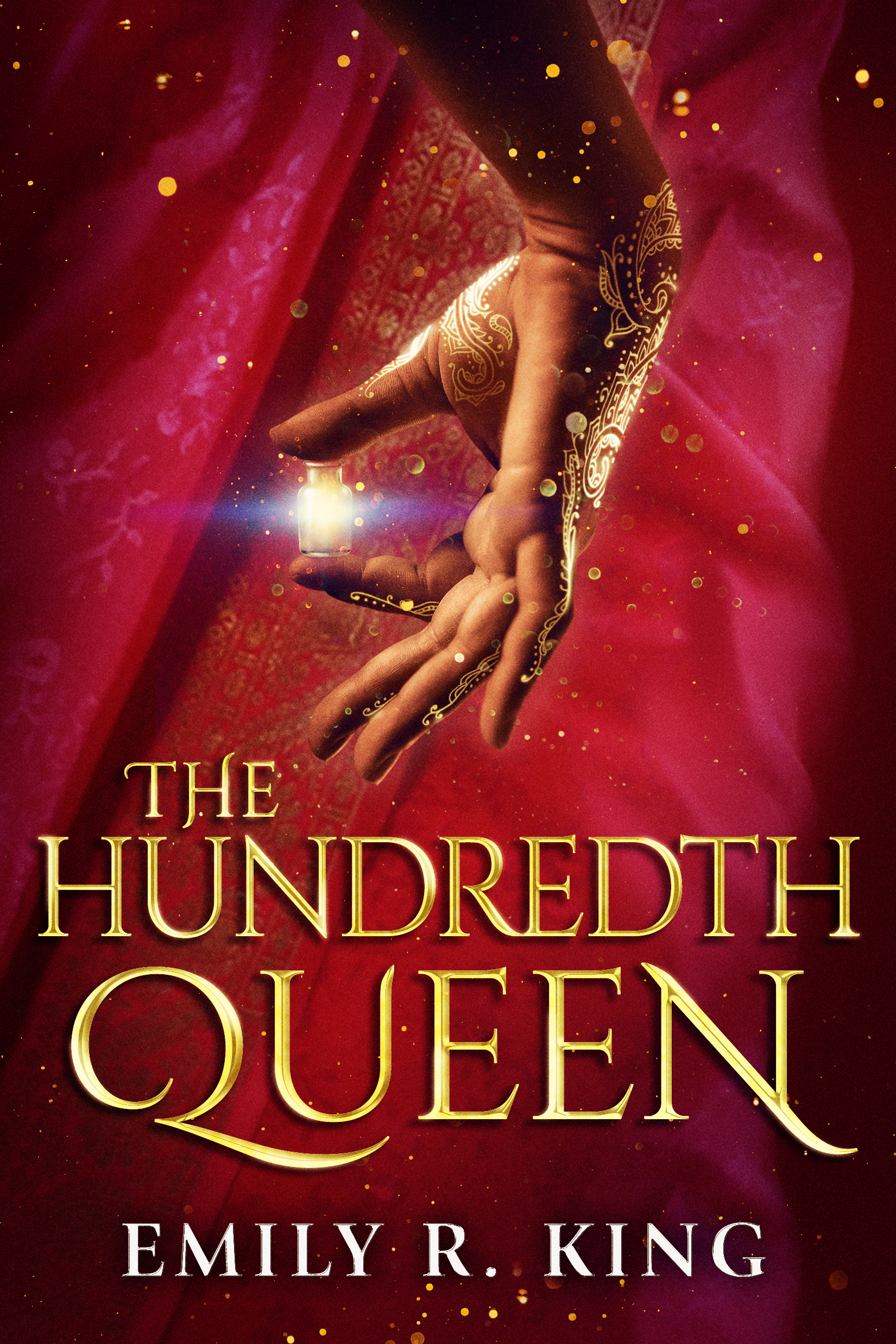 The Hundredth Queen book cover