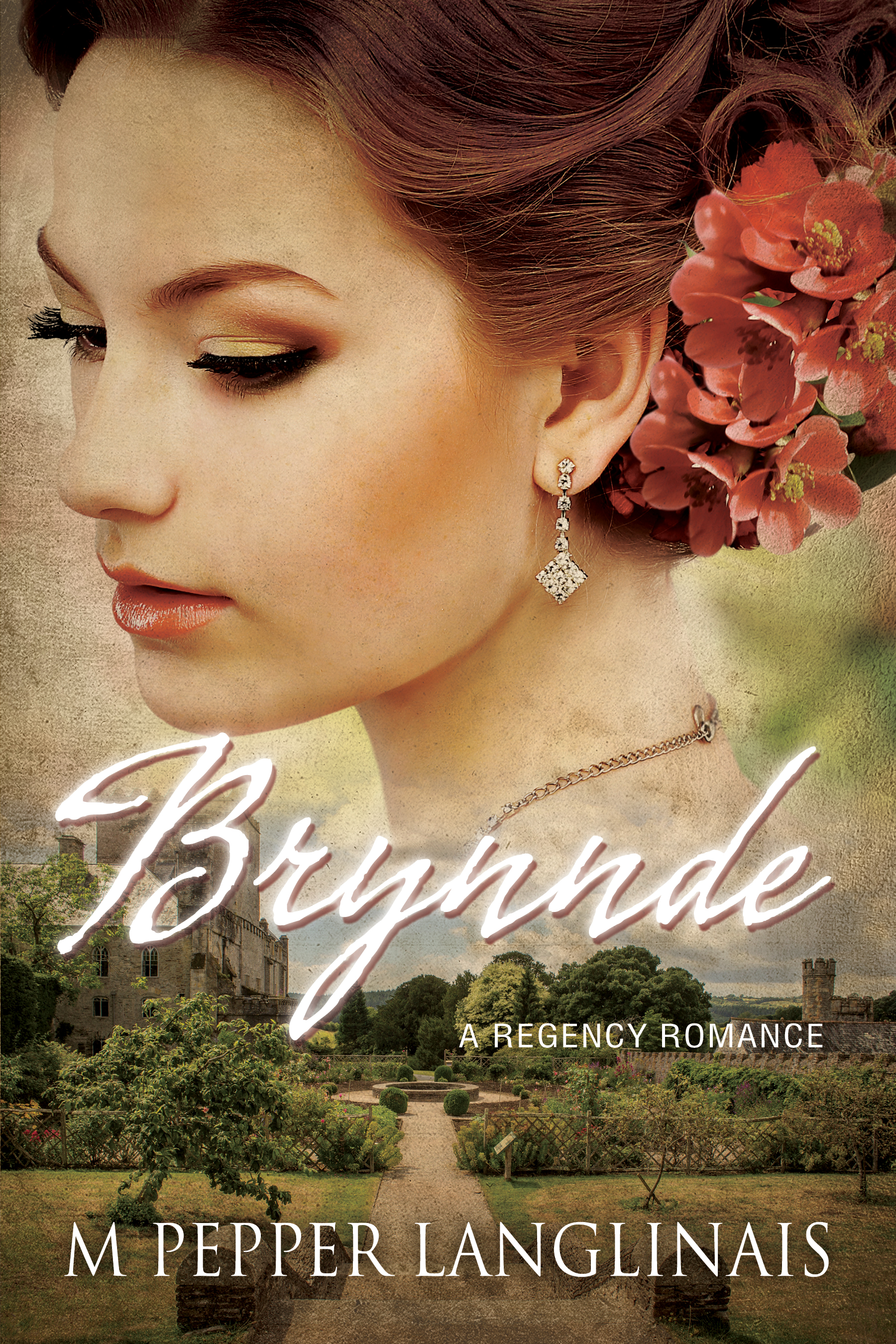 Brynnde book cover by Author M Pepper Langlinais