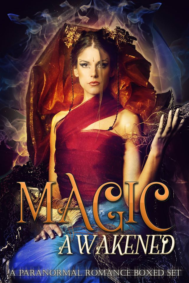 Magic Awakened Book Cover - A Paranormal Urban Romance