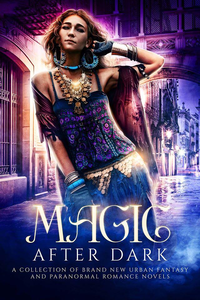 Magic After Dark Book Cover - A Paranormal Urban Romance