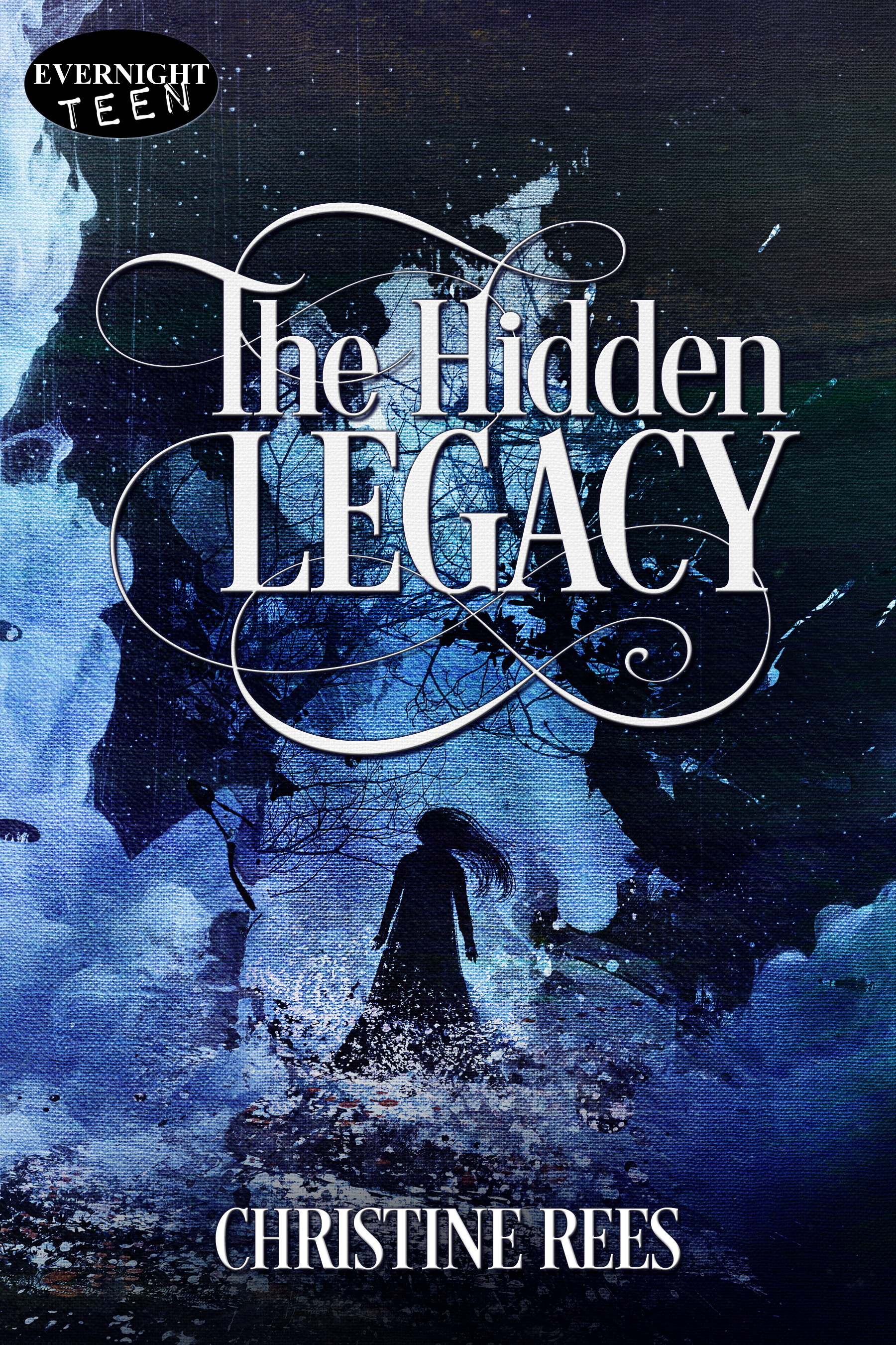 The Hidden Legacy Book Cover - by Author Christine Rees