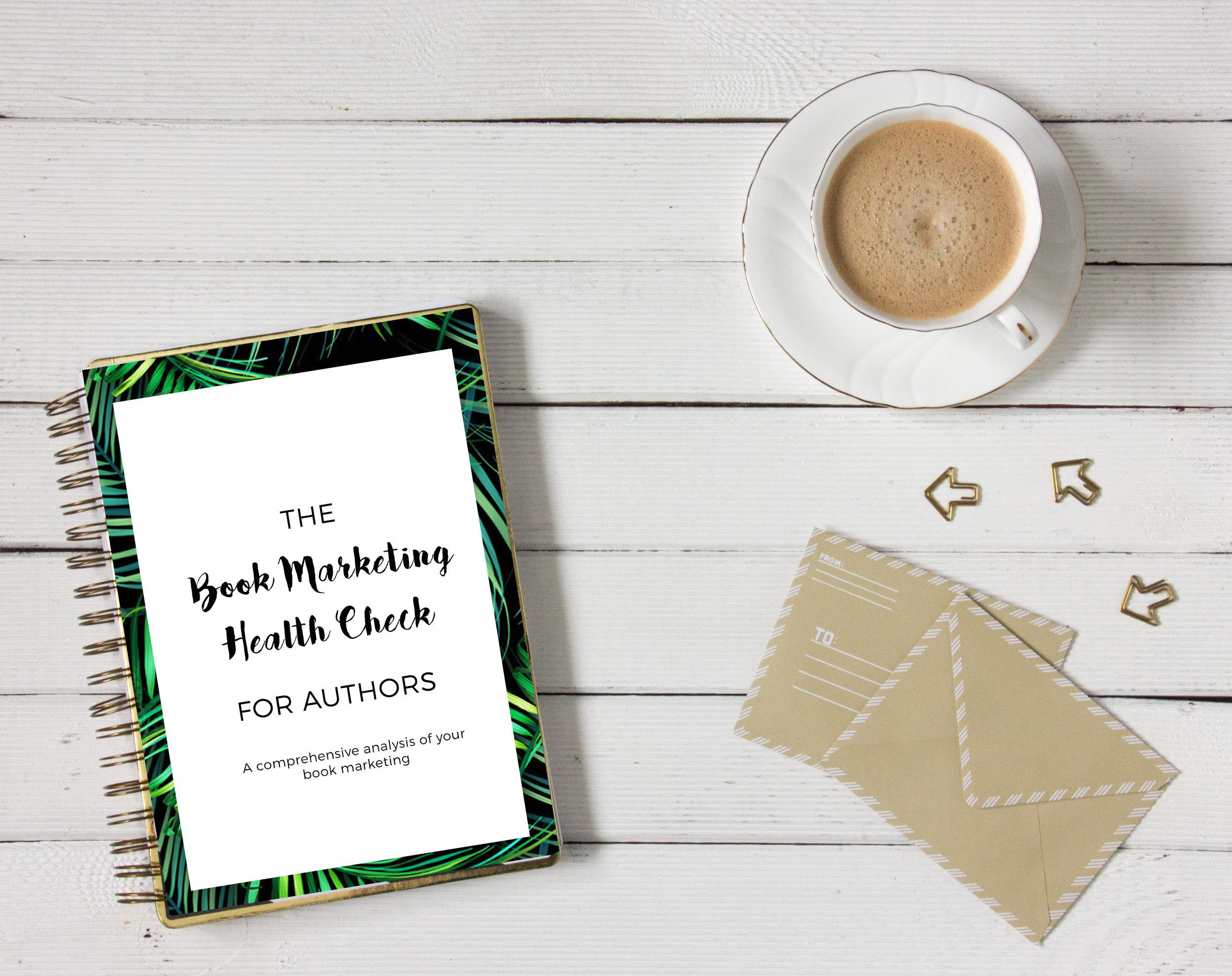 Download your FREEBook Marketing Health Check, Ultimate Author Website Checklist and more -