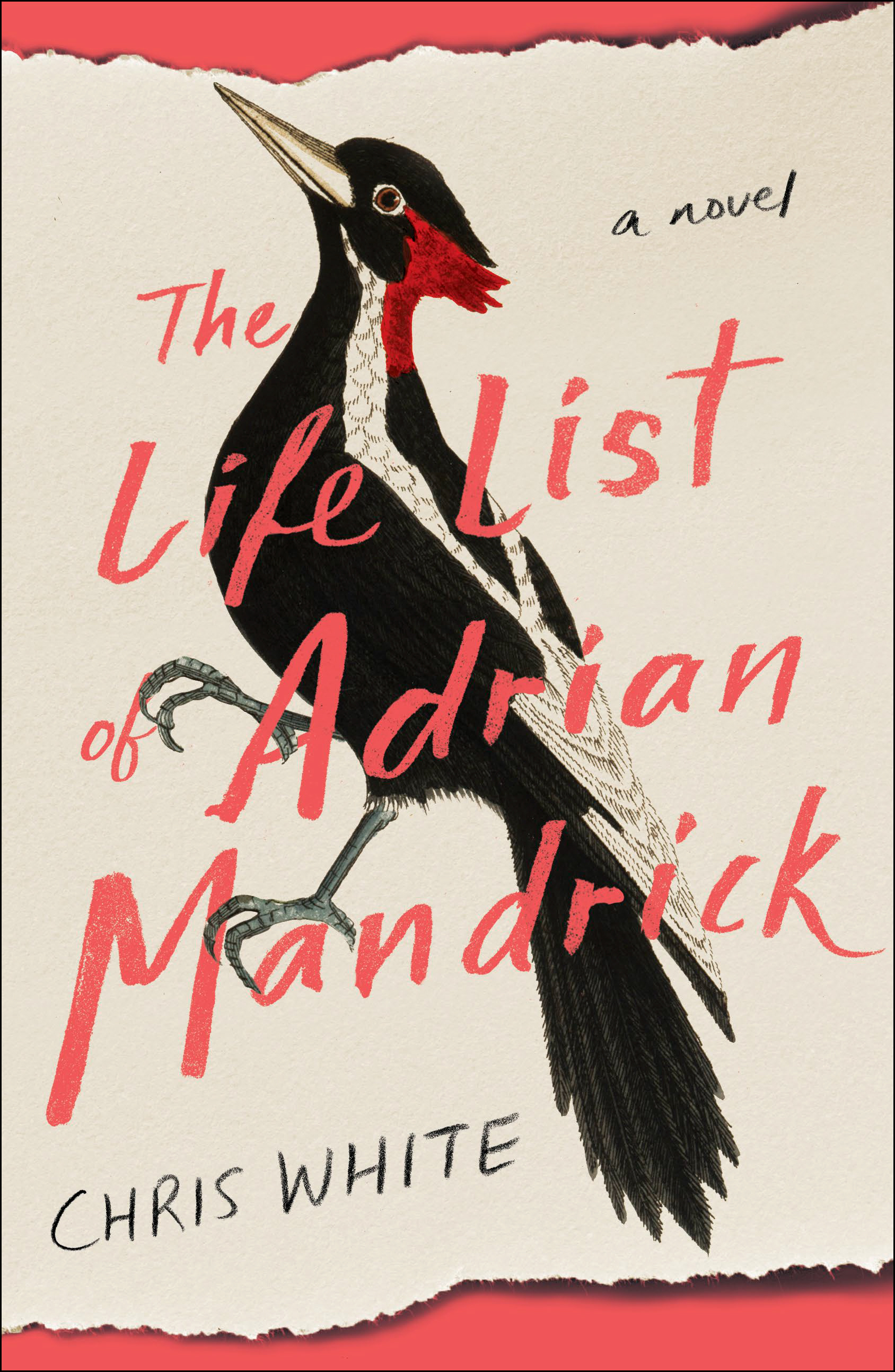 Book Cover The Life List of Adrian Mandrick by author Chris White