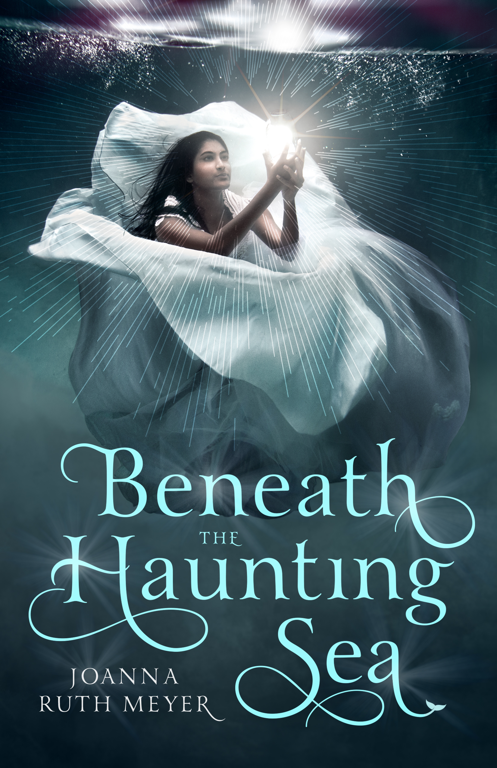 Book Cover for Beneath the Haunting Sea by Author Joanna Ruth Meyer