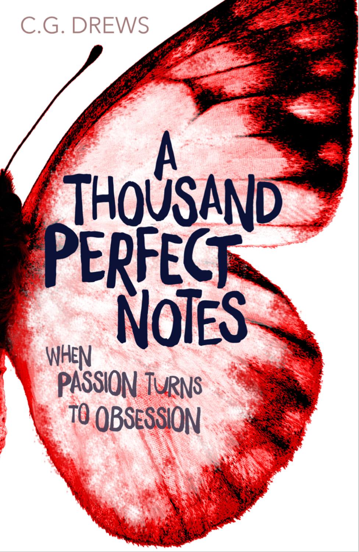 Book Cover - Author C. G. Drews debut novel