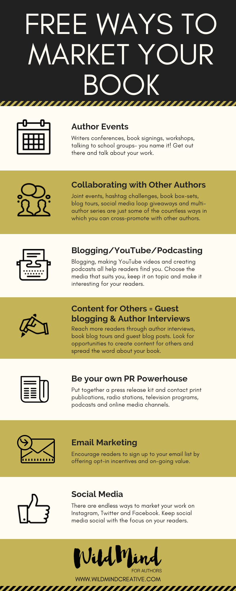 Free Ways Authors can Market their Book