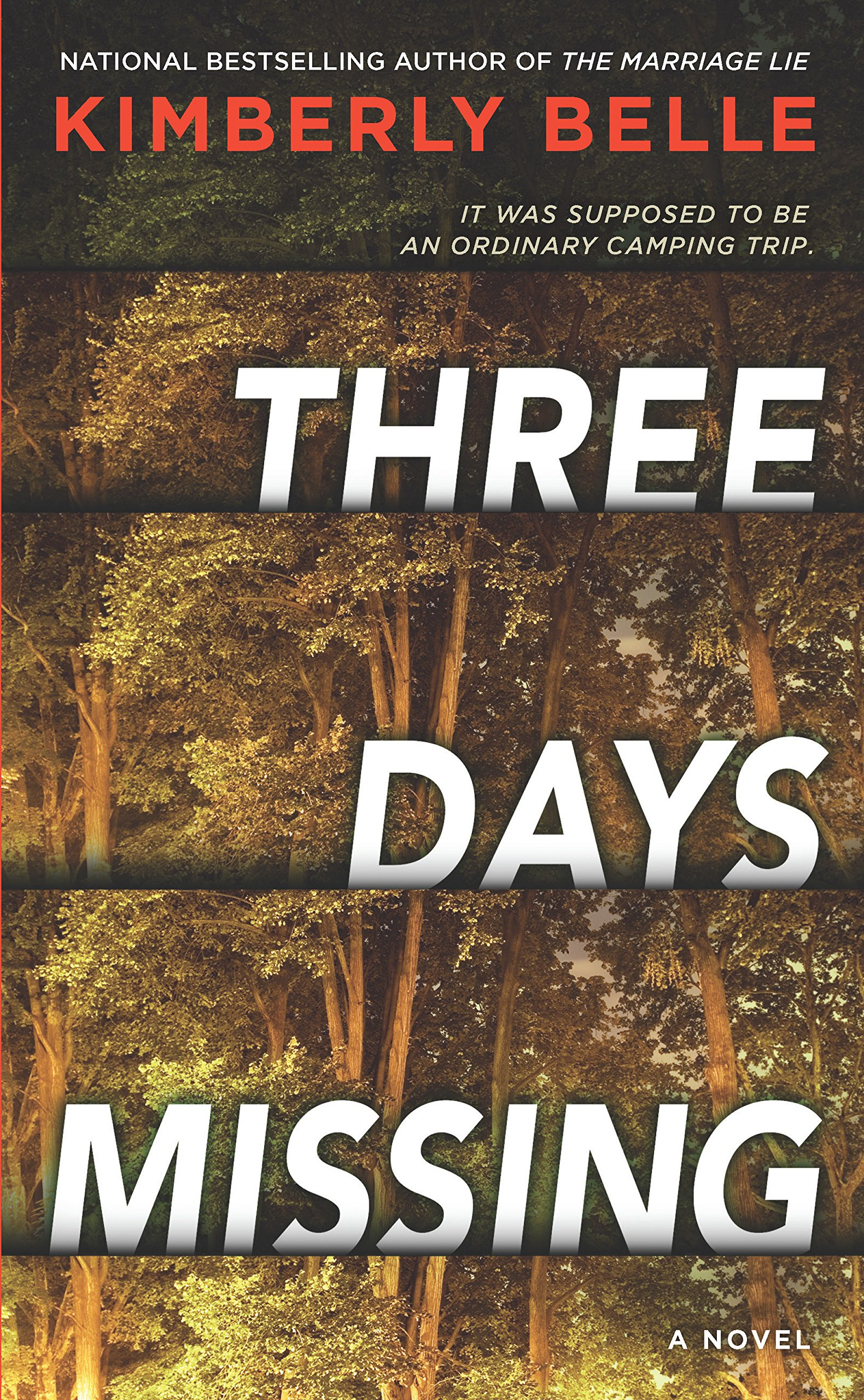 Three Days Missing by Author Kimberly Belle