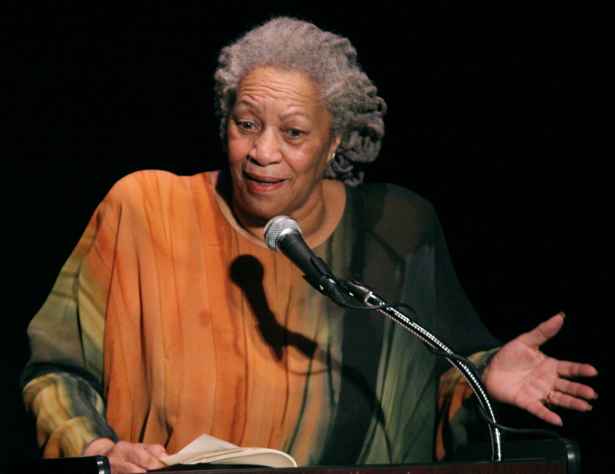 Author Toni Morrison published her first book at the age of 40