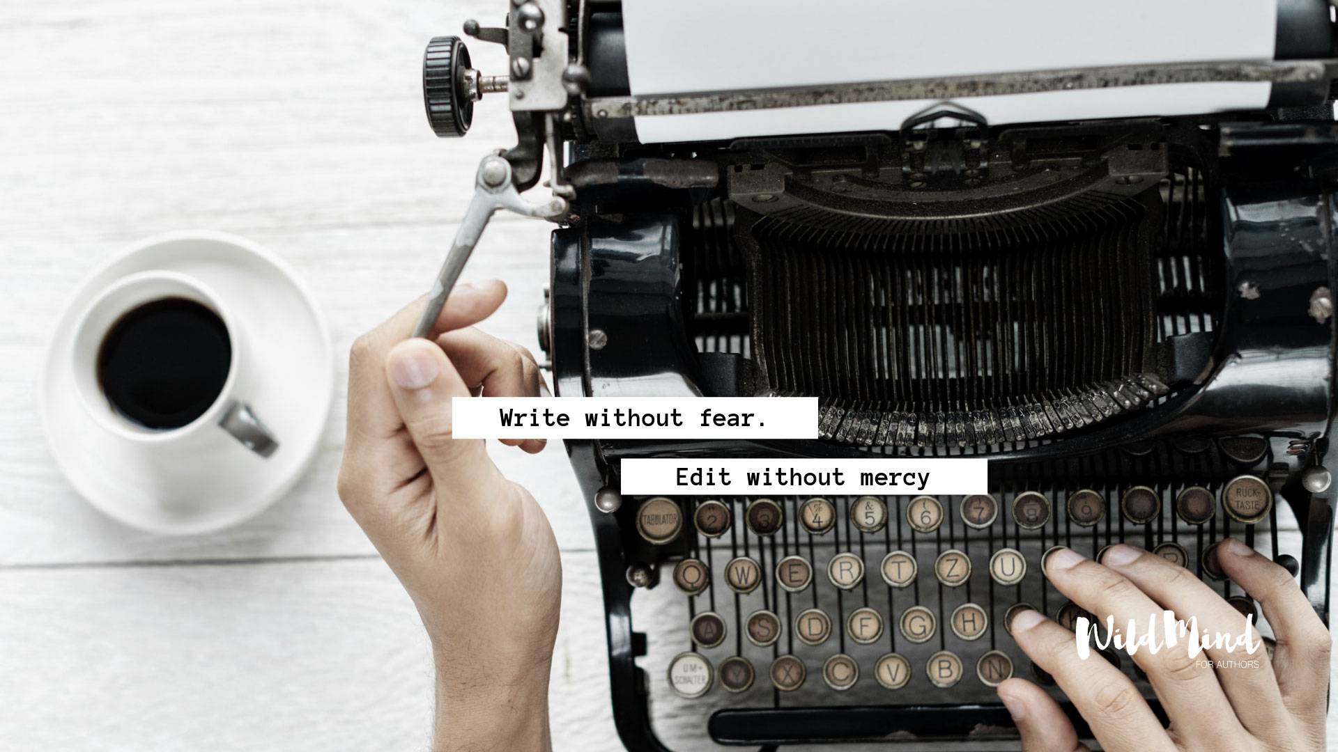 Write without fear wallpaper for writers