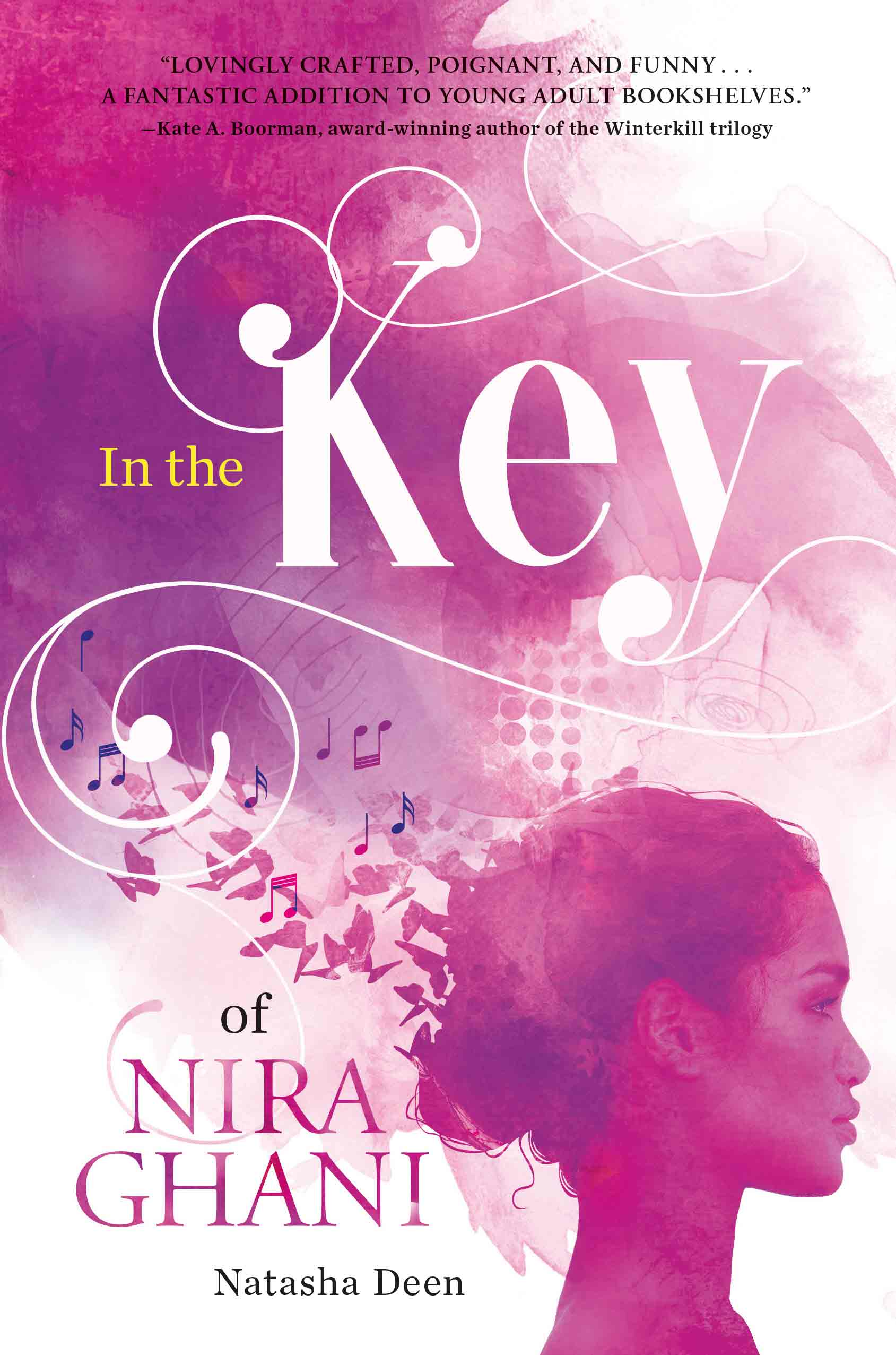 In the Key by author Natasha Deen