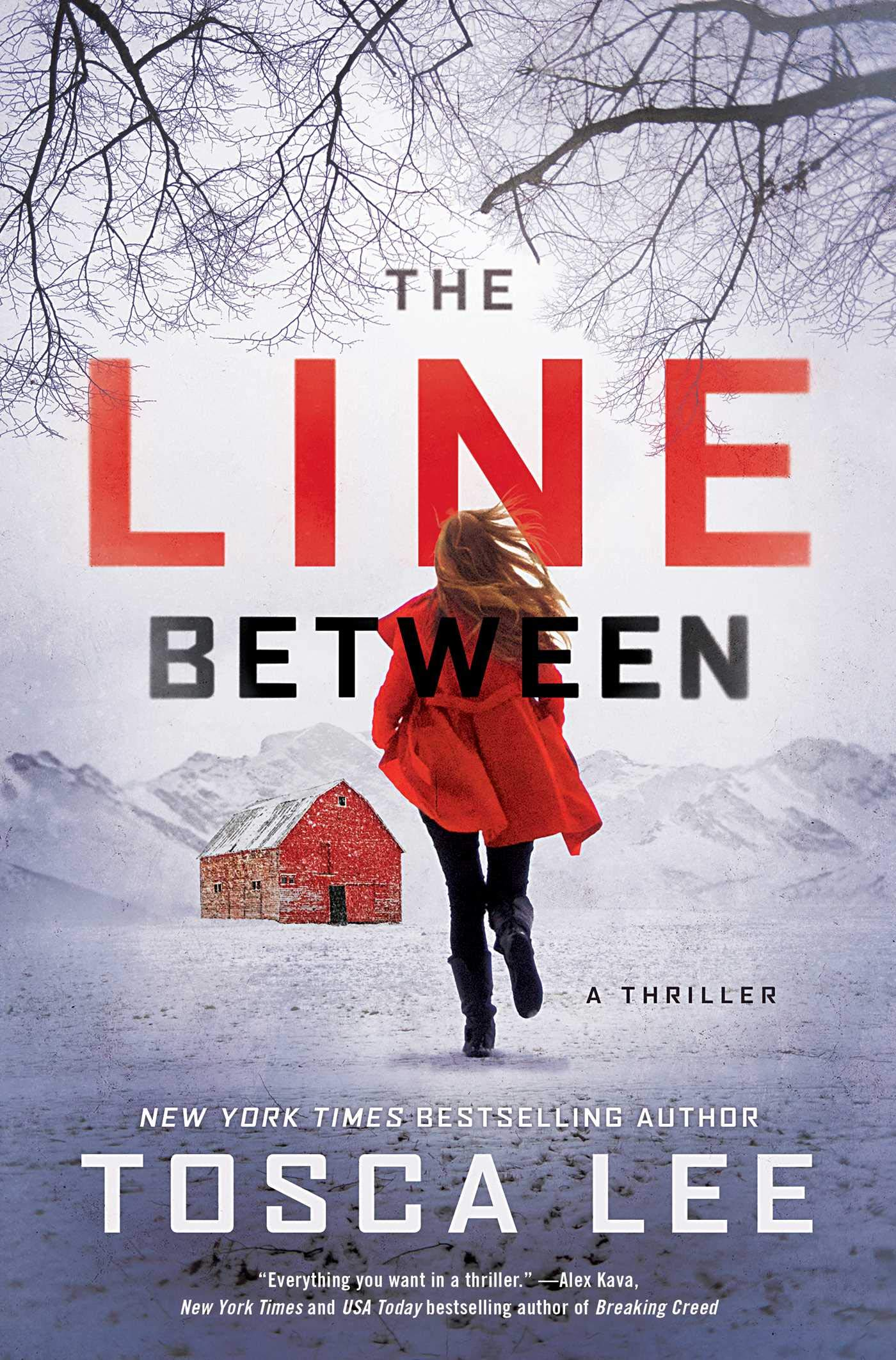 The Line Between by Author Tosca Lee