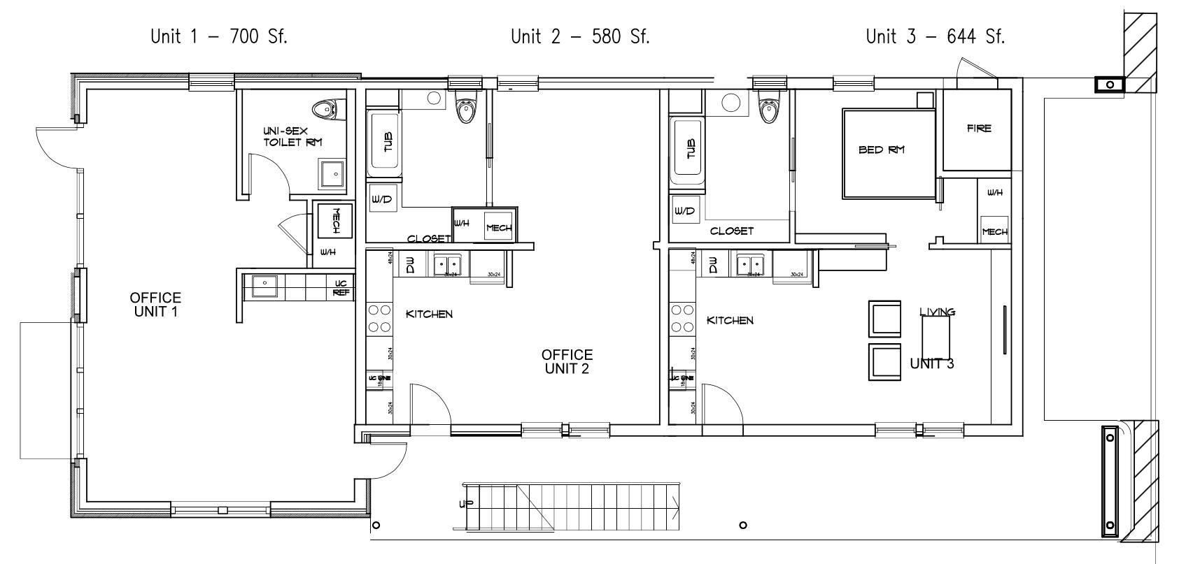 Bishop Arts Lofts (units 1-3)