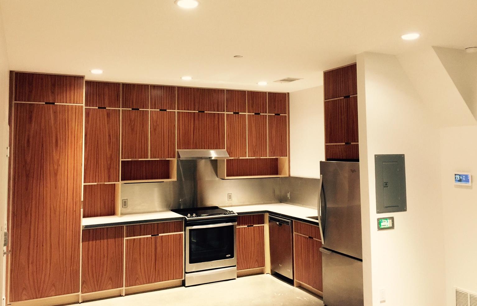 Custom Rosewood Cabinets