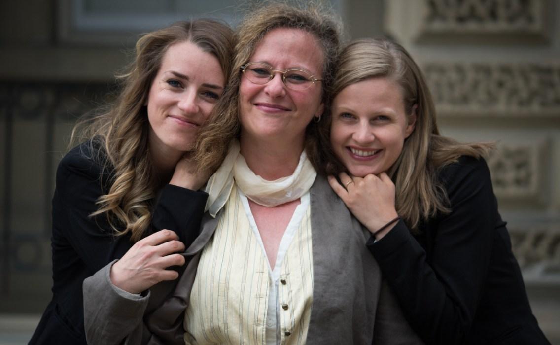 Photo: Jo-Anne McArthur /  Unbound Project.  Pictured: Camille Labchuk, Lesli Bisgould, Anna Pippus