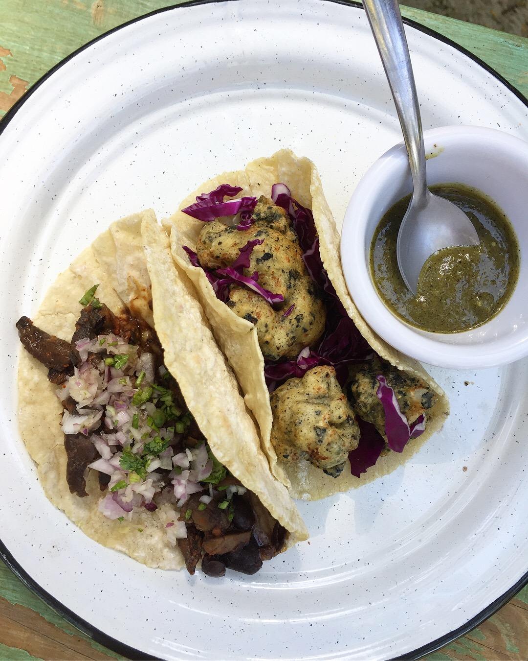 More tacos at Veganda.