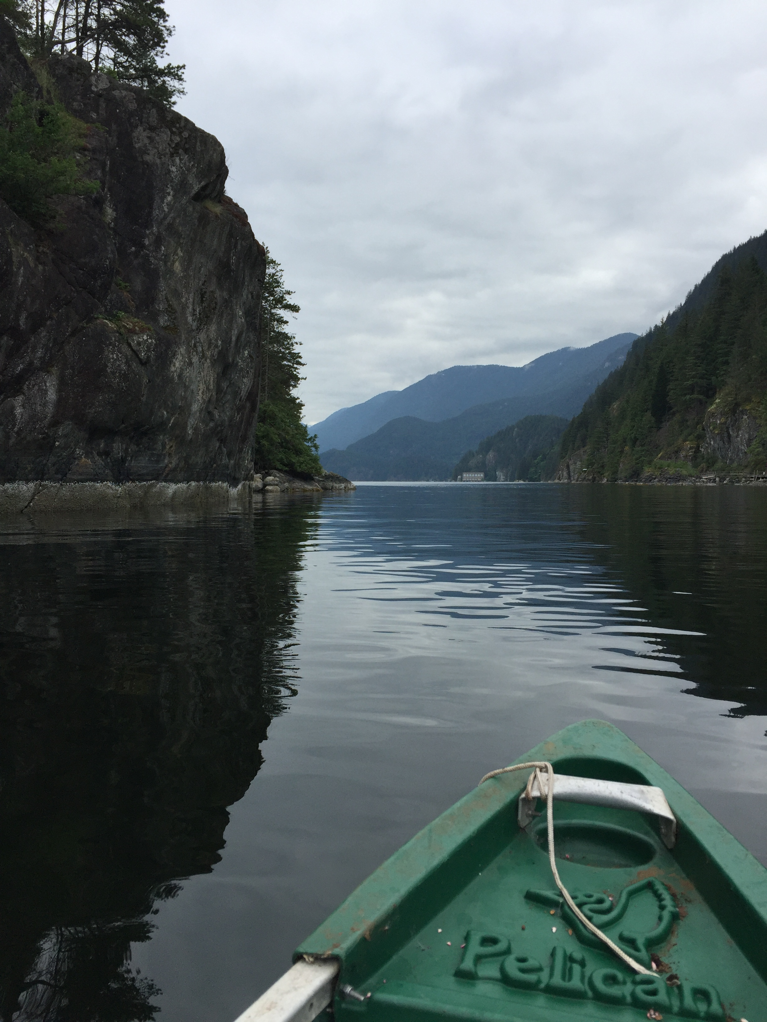 Camping up Indian Arm