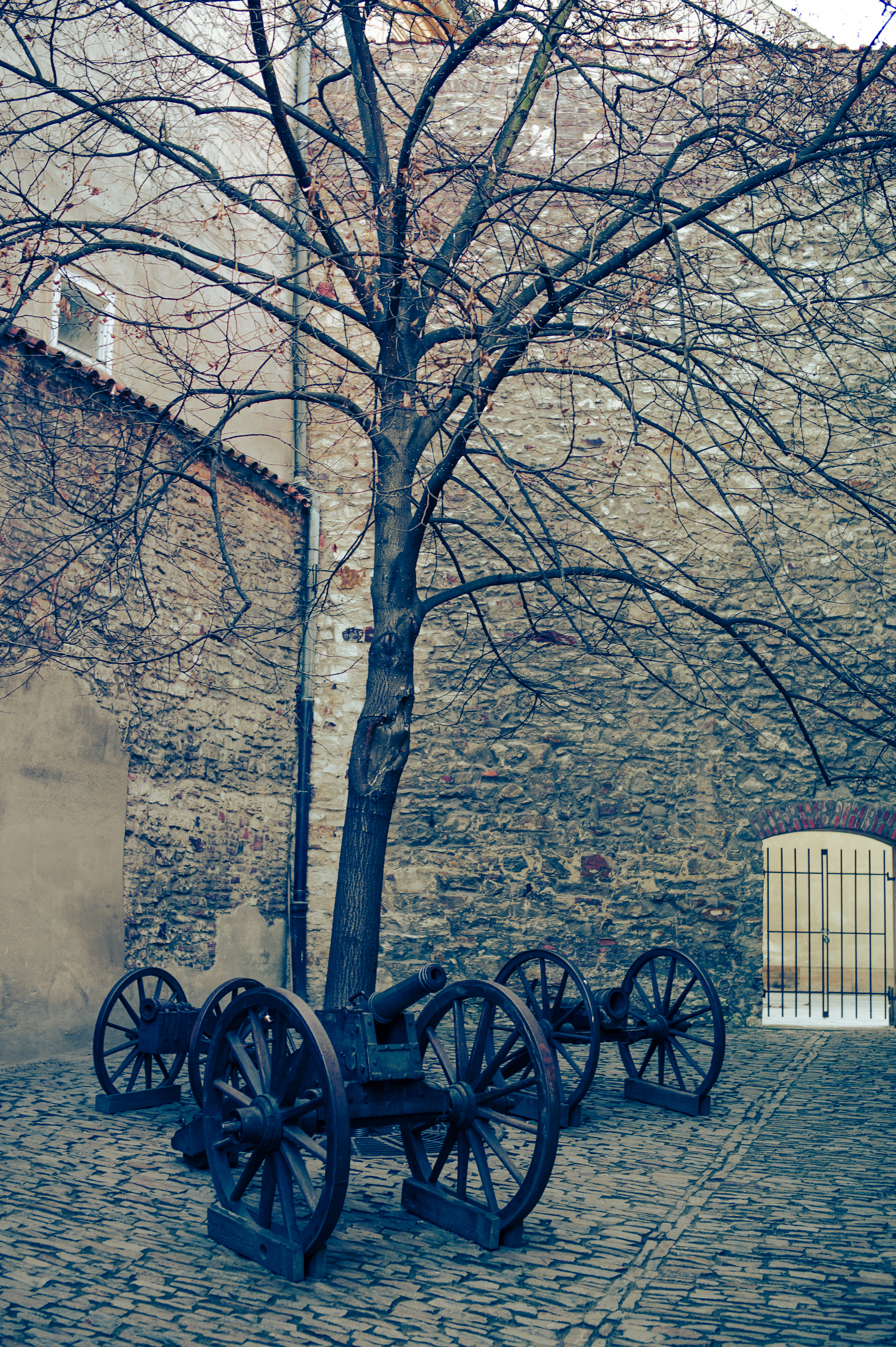 Three Cannons