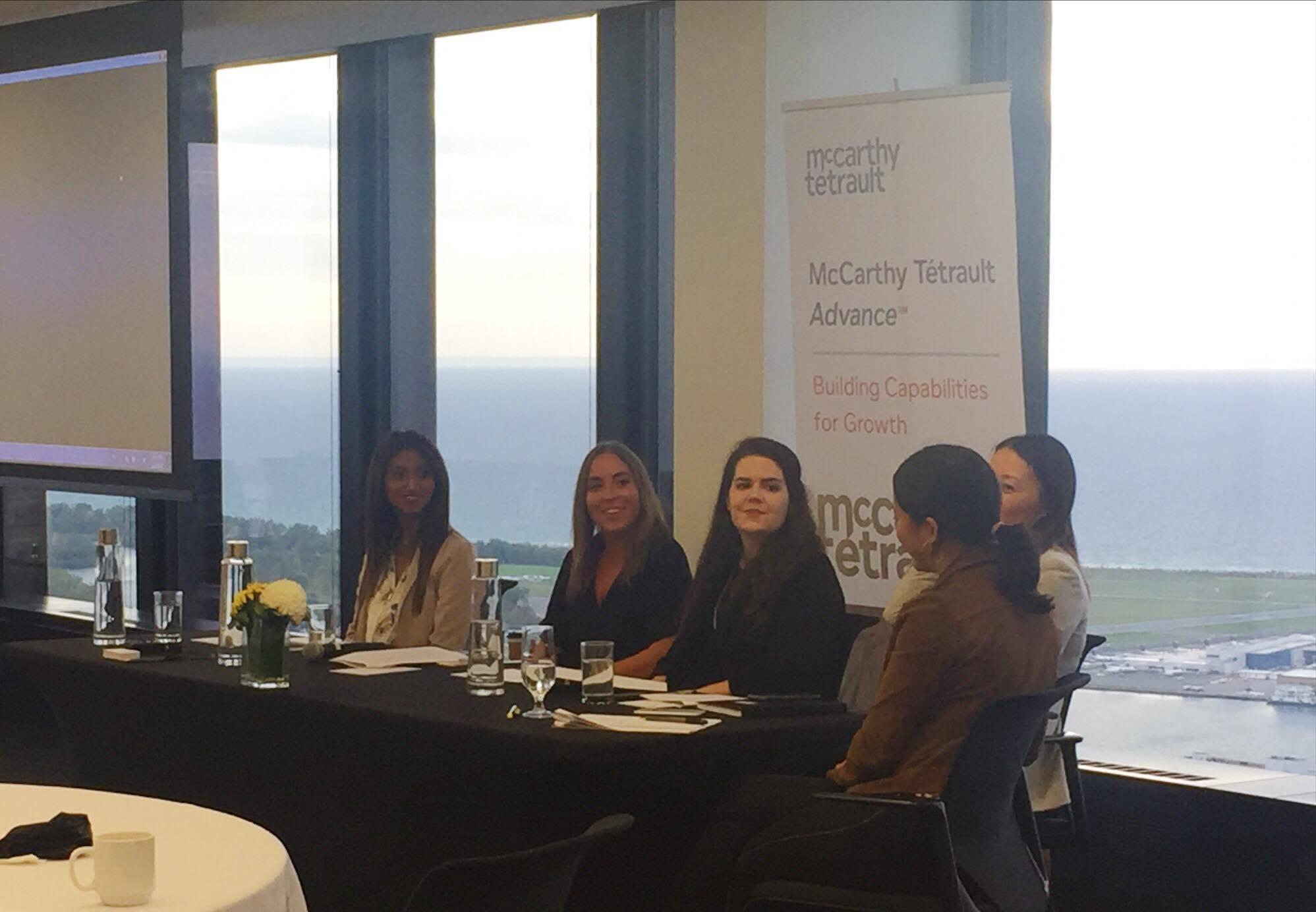 """Panelist - """"Trailblazers: Meeting Women in Law"""""""