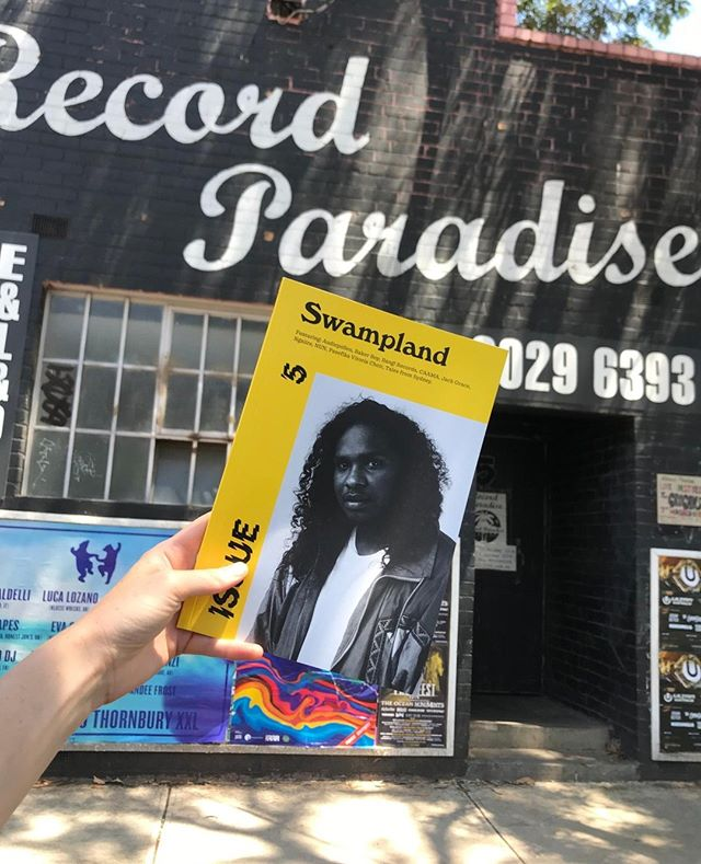 Pop into @recordparadise in Brunswick for some summertime listening/reading🔥 Open today 11 - 5 ⚡⚡⚡
