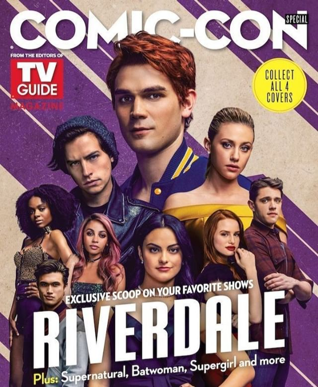 We need a copy of this #SDCC2019 Riverdale cover! . . . . . #Riverdale #camilamendes #veronicalodge #madelainepetsch #cherylblossom #vanessamorgan #tonitopaz #skeetulrich #fpjones #madchenamick #alicecooper #bernadettebeck #peachesncream #falice #choni #varchie #yvr #yvrevents #riverdalecon #riverdaleconvention #southsideserpents #riverdalevixens #prettypoisons #vancouver #604 #604now #talknerdywithus #dailyhiveyvr