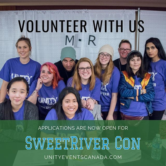 Volunteer with us at #SWEETRIVERCON2019. Applications are now open! . Apply directly on our website (link in bio). . . . . . #Riverdale #camilamendes #veronicalodge #madelainepetsch #cherylblossom #vanessamorgan #tonitopaz #skeetulrich #fpjones #madchenamick #alicecooper #bernadettebeck #peachesncream #falice #choni #varchie #yvr #yvrevents #riverdalecon #riverdaleconvention #southsideserpents #riverdalevixens #prettypoisons #vancouver #604 #604now #talknerdywithus #dailyhiveyvr