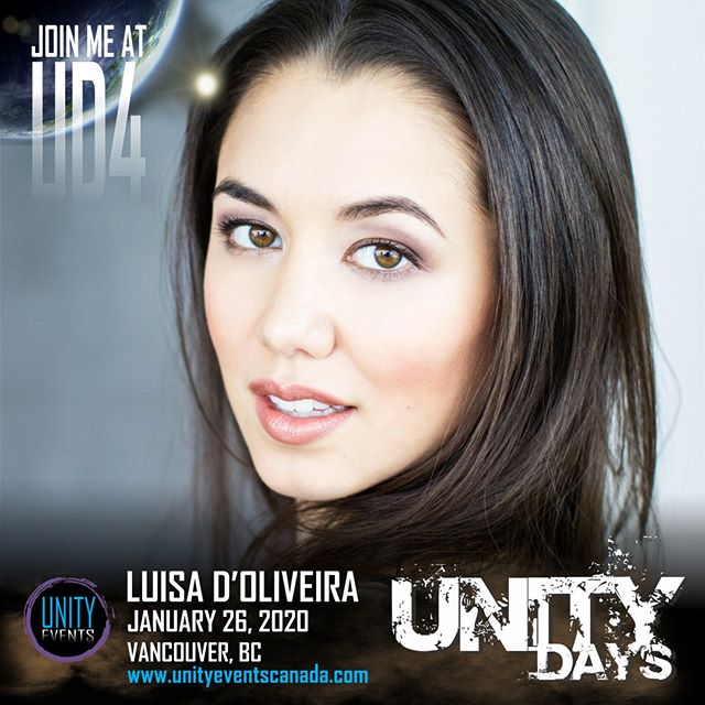 Our second #UNITYDAYS2020 guest... The lovely, LUISA D'OLIVEIRA!  Passes and extras on sale soon! Stay tuned to our socials and website.  #The100 #UD4 #emori